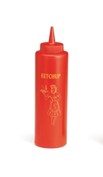 Nostalgia  Squeeze Bottle Dispenser 355ml (12oz) Ketchup