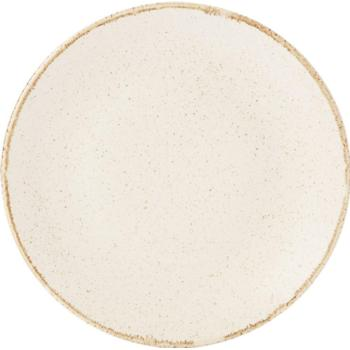 "Oatmeal Coupe Plate 18cm/7"" (Pack of 6)"