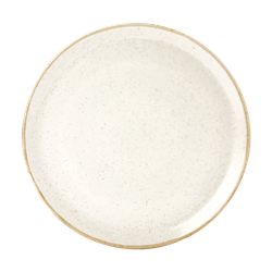 Oatmeal Pizza Plate 28cm (Pack of 6)