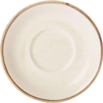 "Oatmeal Saucer 16cm/6.25"" (Pack of 6)"