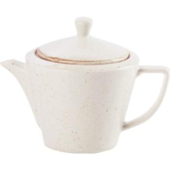 Oatmeal Spare Tea Pot Lid  (Pack of 6)