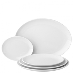 "Oval Plate 11"" / 28cm (6 Pack)"