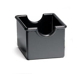 Packet Holder, Plastic, Black, 3.25 x 2.5 x 2