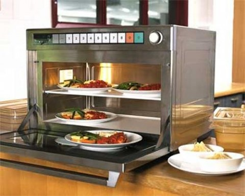 Panasonic Super Heavy Duty 3200w Gastronorm Commercial Microwave Oven