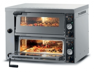 Pizza Oven Twin deck