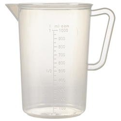 Polypropylene Measuring Jug 1L (Each) Polypropylene, Measuring, Jug, 1L, Nevilles