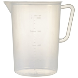 Polypropylene Measuring Jug 2L (Each) Polypropylene, Measuring, Jug, 2L, Nevilles