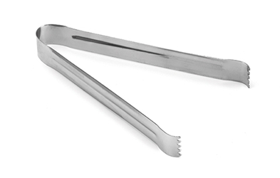 Pom Tongs Stainless Steel, 6""