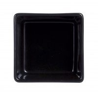 "Purity Noir Sticky Square Bowl 2.4"" 6cm (24 Pack) Purity, Noir, Sticky, Square, Bowl, 2.4"", 6cm"