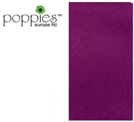 Purple Pre-Folded 3 Ply 40cm Napkins (1000 Pack)