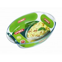 Pyrex Oval Roaster E/Grip    39 x 27cm (4 Pack) Pyrex, Oval, Roaster, EGrip 39, x, 27cm