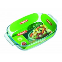 Pyrex Rectangular Roaster E/Grip    26 x 17cm (6 Pack) Pyrex, Rectangular, Roaster, EGrip 26, x, 17cm