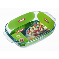 Pyrex Rectangular Roaster E/Grip    30 x 20cm (6 Pack) Pyrex, Rectangular, Roaster, EGrip 30, x, 20cm