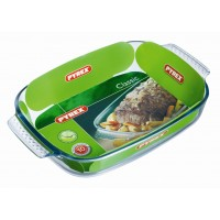 Pyrex Rectangular Roaster E/Grip    35 x 23cm (6 Pack) Pyrex, Rectangular, Roaster, EGrip 35, x, 23cm