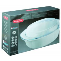 Pyroflam Oval Casserole   3.5L (3 Pack) Pyroflam, Oval, Casserole,3.5L
