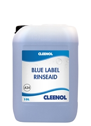 RINSEAID - BLUE LABEL 10L Rinseaid, Blue, Label, Cleenol