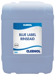 RINSEAID - BLUE LABEL 20L Rinseaid, Blue, Label, Cleenol