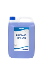 RINSEAID - BLUE LABEL 5L Rinseaid, Blue, Label, Cleenol