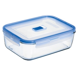Rectangular Extra Large Box & Lid 66.5oz 197cl (6 Pack) Rectangular, Extra, Large, Box, &, Lid, 66.5oz, 197cl