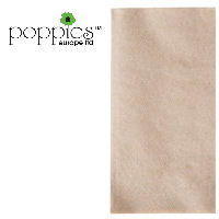Recycled Brown Pre-Folded 2 Ply 33cm Napkins (2000 Pack)