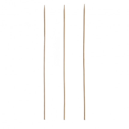"Round Bamboo Skewer 10""/ 254mm (200 Pack)"