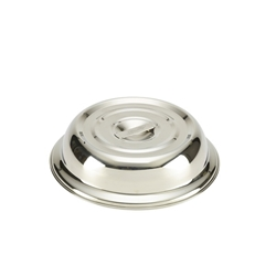 Round Stainless Steel Plate Cover For 10 Plates (Each) Round, Stainless, Steel, Plate, Cover, For, 10, Plates, Nevilles