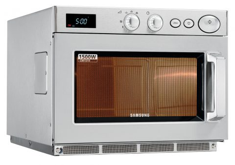 Samsung CM1519 1500w Medium/Heavy Duty Commercial Microwave - Programmable Touch