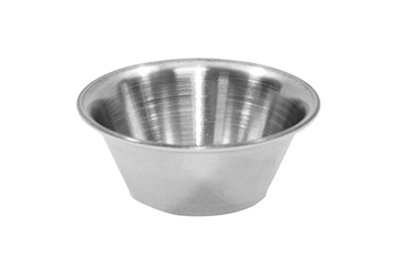 2 oz Sauce Cup, Stainless Steel