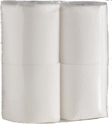 Sirius Pure Pulp Toilet Roll 200 Sheet Clear Pack (36 Rolls 9x4)
