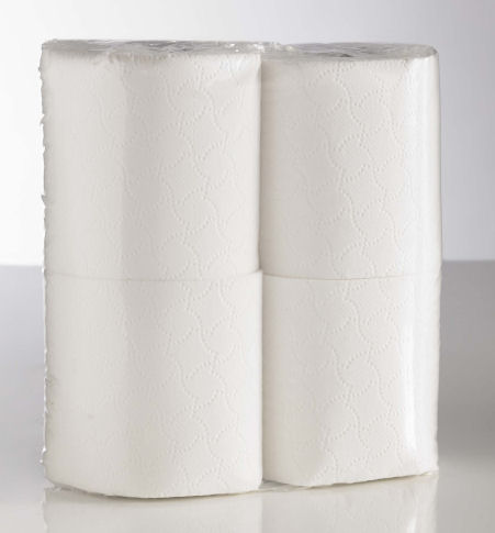 Sirius Recycled Toilet Roll 320 Sheet Clear Pack (36 Rolls 9x4)