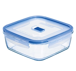 Square Jumbo Box & Lid 84.5oz 2L5 (4 Pack) Square, Jumbo, Box, &, Lid, 84.5oz, 2L5
