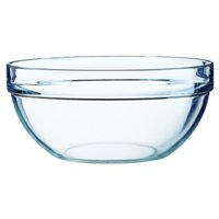 "Stacking Mixing / Salad Bowl 7.9"" 20cm (6 Pack) Stacking, Mixing, Salad, Bowl, 7.9"", 20cm"