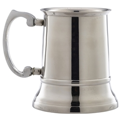 Stainless Steel Beer Tankard 45cl/15.75oz (Each) Stainless, Steel, Beer, Tankard, 45cl/15.75oz, Nevilles
