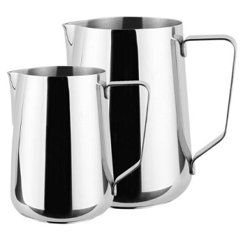 Stainless Steel Latte Jug 2000Ml