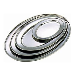 Stainless Steel Oval Flat 24 (Each) Stainless, Steel, Oval, Flat, 24, Nevilles
