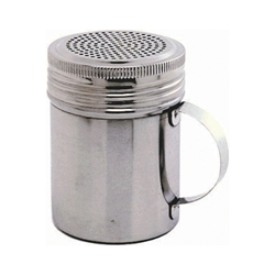 Stainless Steel Screw Top Shaker/Dredger 300ml (Each) Stainless, Steel, Screw, Top, Shaker/Dredger, 300ml, Nevilles