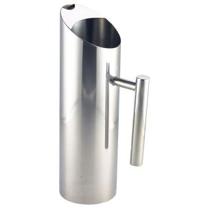 Stainless Steel Water Jug 1.2L/42.25oz (Each) Stainless, Steel, Water, Jug, 1.2L/42.25oz, Nevilles