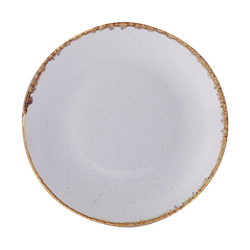 Stone Coupe Plate 24cm (Pack of 6)