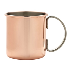Straight Copper Mug 50cl/17.5oz (Each) Straight, Copper, Mug, 50cl/17.5oz, Nevilles