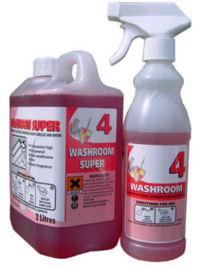 Washroom Super 50:1 Concentrate (2 x 2ltr)