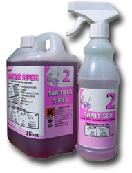 Super Sanitizer 50:1 Concentrate (2 x 2ltr)