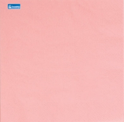 Swantex Pink 2 Ply 33cm Napkins (2000 Pack)
