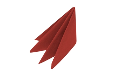 Swantex Red Pre-Folded 2 Ply 40cm Napkins (2000 Pack)
