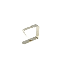 Tablecloth Clip Stainless Steel 2 x 1 3/4 (Each) Tablecloth, Clip, Stainless, Steel, 2, 1, 3/4, Nevilles