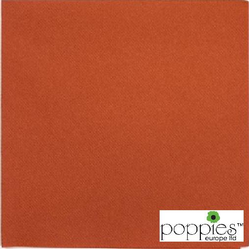 Terracotta 2 Ply 40cm Napkins (2000 Pack)