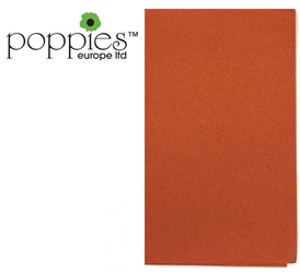 Terracotta Pre-Folded 3 Ply 40cm Napkins (1000 Pack)
