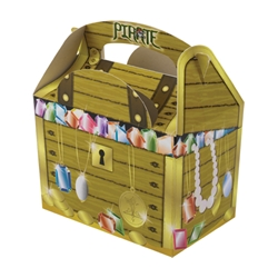 Treasure Chest paperboard box with handle