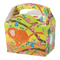 Tropics paperboard box with handle