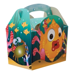 Under the Sea paperboard box with handle