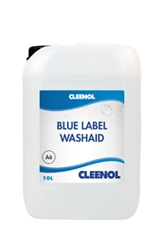 WASHAID BLUE LABEL  10L Washaid, Blue, Label, Cleenol